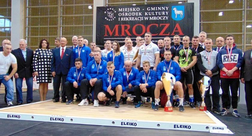 Podnoszenie Ciężarów, Mazovia Ciechanów podium Drużynowych Mistrzostw Polski - zdjęcie, fotografia