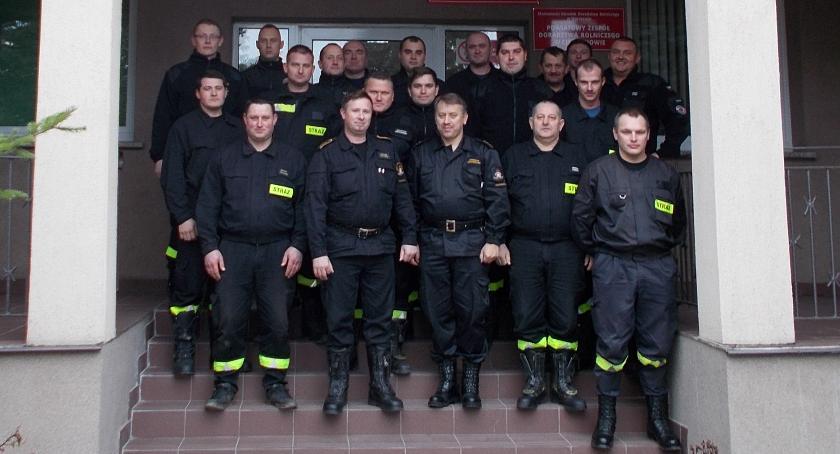 Działania Strażaków, Ciechanowie odbyło szkolenie naczelników - zdjęcie, fotografia