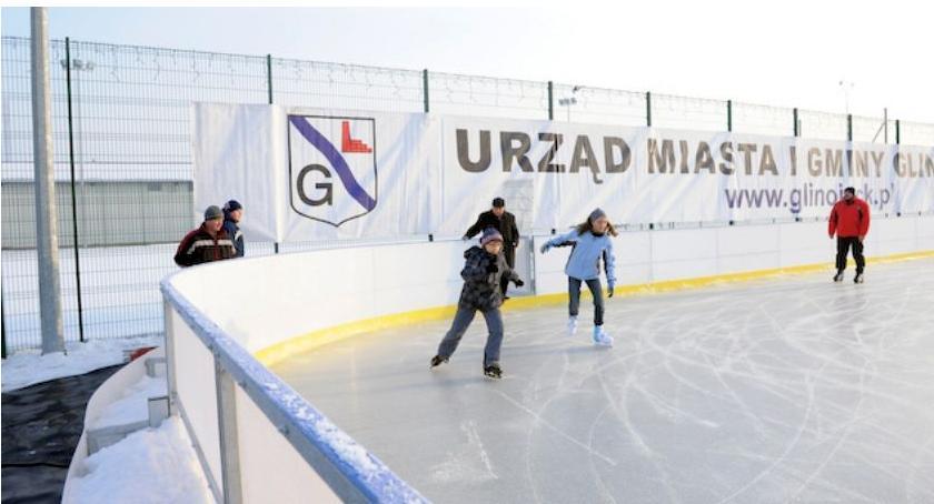 Inne Sporty, sobotę otwarcie lodowiska Glinojecku - zdjęcie, fotografia