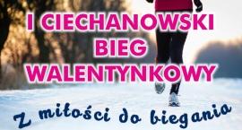 W sobotę I Ciechanowski Bieg Walentynkowy