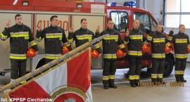 Nowi strażacy w ciechanowskiej PSP. Już złożyli ślubowanie (zdjęcia)