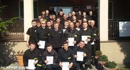 Druhowie z OSP przeszli szkolenie i zdali egzamin (zdjęcia)