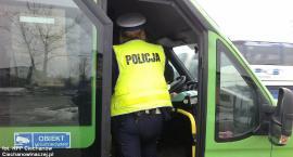 Kontrole autokarów w Ciechanowie. Dwa nie nadawały się do jazdy