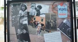 Na deptaku można oglądać wystawę z okazji Dnia Matki