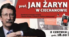 Spotkanie z prof. Janem Żarynem w Ciechanowie