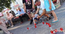 Powstańcze śpiewo-granie na ciechanowskim deptaku (zdjęcia)