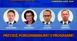 Spotkanie z parlamentarzystami Platformy Obywatelskiej w Ciechanowie