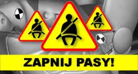 Mandaty za niezapięte pasy dla kierowców i pasażerów