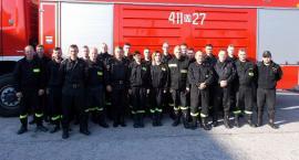 Szkolenie dowódców OSP z powiatu ciechanowskiego
