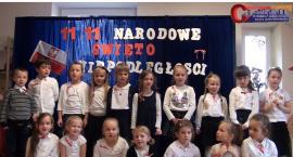 Od przedszkolaków przesłanie dla wszystkich Polaków. Święto Niepodległości u Krasnoludków