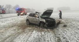 Z ostatniej chwili: Tragiczny wypadek na krajówce (zdjęcia)