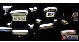 Podejrzany zapach w budynku poczty pod Ciechanowem. Interweniowali strażacy
