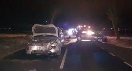 Groźna kolizja z udziałem czterech samochodów (zdjęcia)