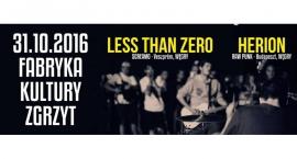 Koncert LESS THAN ZERO (Veszprém, Węgry) + HERION ( Budapeszt, Węgry)
