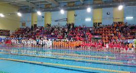 Gimnazjaliści z Ciechanowa najlepsi w zawodach pływackich