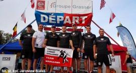 Sport Ciechanowcy strażacy startowali w zawodach we Francji