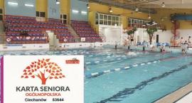 Seniorzy mogą za darmo skorzystać z basenu w Ciechanowie